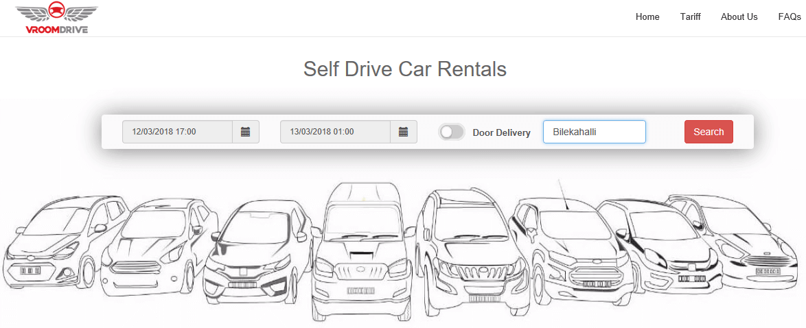 Self Drive Car Rental Guide - Home