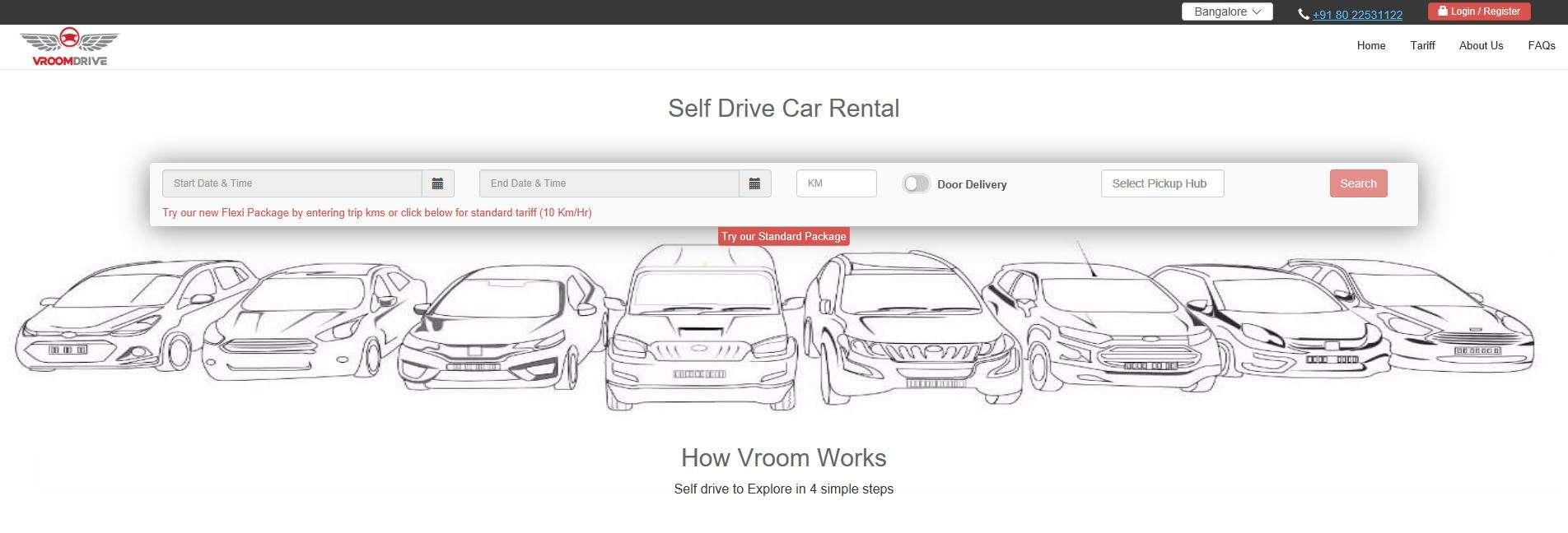 Car rental package